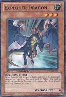 Yu-Gi-Oh Duel Terminal 4 Single Exploder Dragon Common DT04