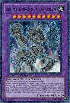 Yu-Gi-Oh Duel Terminal 3 Single Ultimate Ancient Gear Golem Common DT03