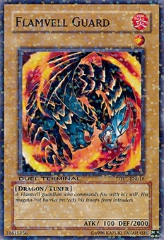 Yu-Gi-Oh Duel Terminal 1 Single Flamvell Guard Common DT01