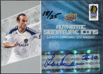 2012 Upper Deck Las Vegas Industry Summit Autographs #LVLD Landon Donovan 18/25