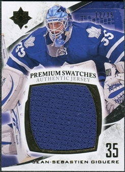 2010/11 Upper Deck Ultimate Collection Premium Swatches #PJG Jean-Sebastien Giguere /35