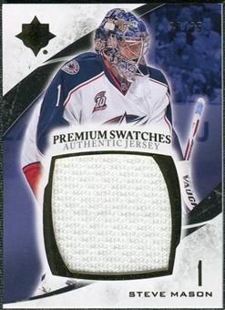 2010/11 Upper Deck Ultimate Collection Premium Swatches #PSM Steve Mason /35