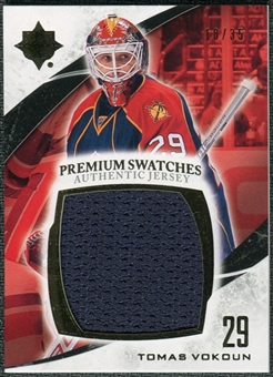 2010/11 Upper Deck Ultimate Collection Premium Swatches #PVO Tomas Vokoun /35