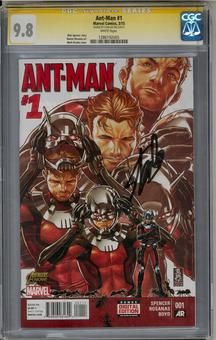 Ant-Man #1 CGC 9.8 (W) Stan Lee Signature Series *1286192005*