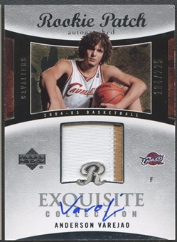 2004/05 Exquisite Collection #62 Anderson Varejao Rookie Patch Auto #184/225