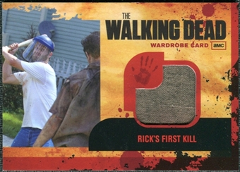 2011 The Walking Dead Wardrobe Memorabilia #M18 Rick's First Kill (binder exclusive)