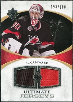 2010/11 Upper Deck Ultimate Collection Ultimate Jerseys #UJCW Cam Ward /100