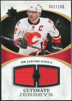 2010/11 Upper Deck Ultimate Collection Ultimate Jerseys #UJJI Jarome Iginla