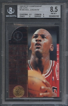1994/95 SP Championship Die Cuts #4 Michael Jordan BGS 8.5 (NM-MT+) *0760