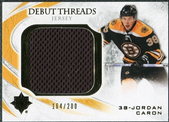 2010/11 Upper Deck Ultimate Collection Debut Threads #DTJO Jordan Caron /200