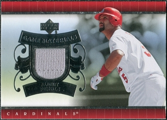 2007 Upper Deck UD Game Materials #AP Albert Pujols S2