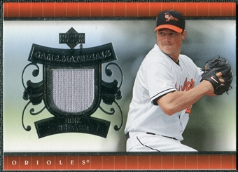 2007 Upper Deck UD Game Materials #EB Erik Bedard S2