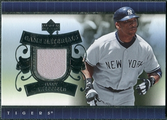 2007 Upper Deck UD Game Materials #GS Gary Sheffield S2