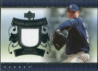 2007 Upper Deck UD Game Materials #HO Trevor Hoffman S2