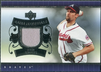 2007 Upper Deck UD Game Materials #JS John Smoltz S2