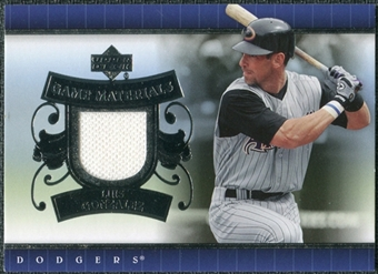 2007 Upper Deck UD Game Materials #LG Luis Gonzalez S2