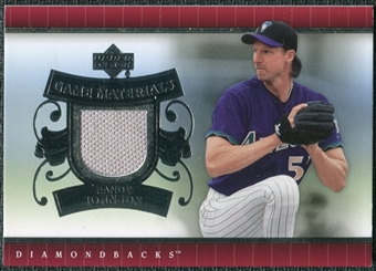 2007 Upper Deck UD Game Materials #RJ Randy Johnson S2