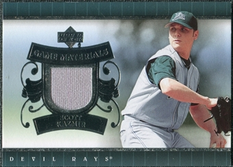 2007 Upper Deck UD Game Materials #SK Scott Kazmir S2