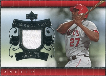 2007 Upper Deck UD Game Materials #VG Vladimir Guerrero S2