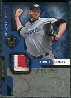 2005 Upper Deck Ultimate Collection Hurlers Patch #HA Roy Halladay 12/21