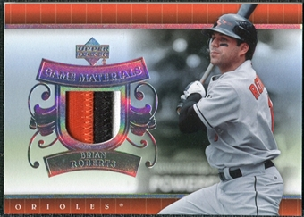 2007 Upper Deck UD Game Patch #BR Brian Roberts