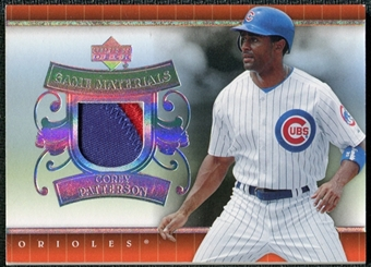 2007 Upper Deck UD Game Patch #CP Corey Patterson