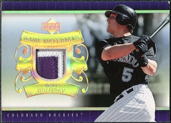 2007 Upper Deck UD Game Patch #MH Matt Holliday