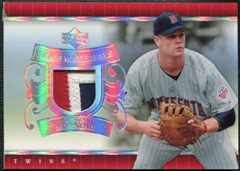 2007 Upper Deck UD Game Patch #MO Justin Morneau