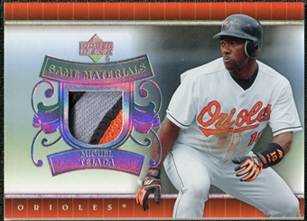 2007 Upper Deck UD Game Patch #MT Miguel Tejada
