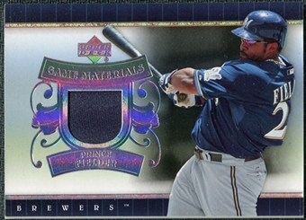 2007 Upper Deck UD Game Patch #PF Prince Fielder