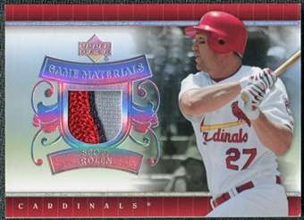 2007 Upper Deck UD Game Patch #SR Scott Rolen