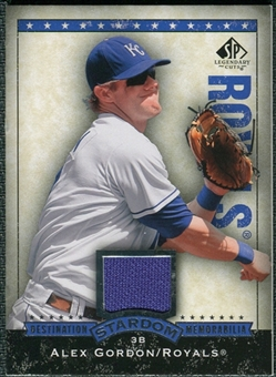 2008 Upper Deck SP Legendary Cuts Destination Stardom Memorabilia #AG Alex Gordon