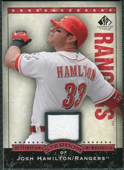 2008 Upper Deck SP Legendary Cuts Destination Stardom Memorabilia #JO Josh Hamilton