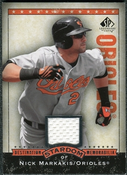 2008 Upper Deck SP Legendary Cuts Destination Stardom Memorabilia #NM Nick Markakis