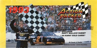 1993 Pinnacle Action Packed Series 3 Racing Hobby Box