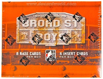 2011/12 In The Game Broad Street Boys Hockey Hobby Box