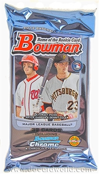 2012 Bowman Baseball Jumbo Pack
