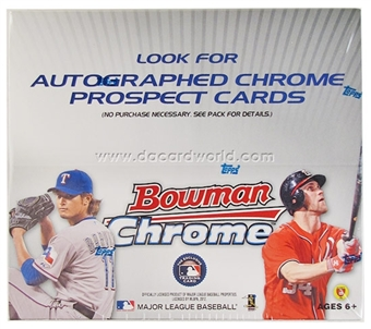 2012 Bowman Chrome Baseball 24-Pack Box