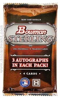 2012 Bowman Sterling Baseball Hobby Pack