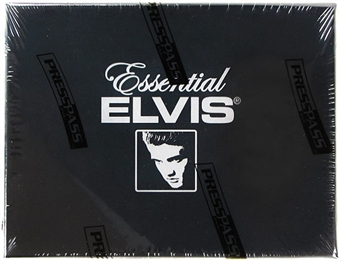 Essential Elvis Trading Cards Hobby Box (Press Pass 2012)