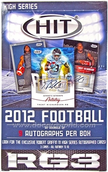 2012 Sage Hit High Series Football Hobby Box