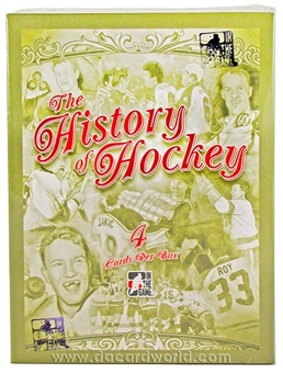 2012/13 In The Game History of Hockey Hobby Box