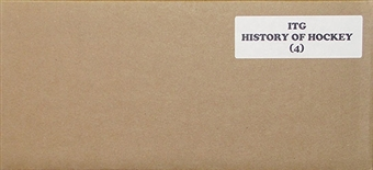 2012/13 In The Game History of Hockey Hobby 4-Box Case