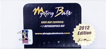 2012 Just Minors Mystery Bats Baseball Hobby Box