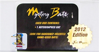 2012 Just Minors Mystery Bats - Game Used Edition Baseball Hobby Box