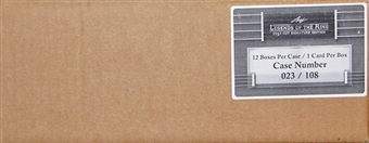 2013 Leaf Legends of the Ring Boxing Hobby 12-Box Case