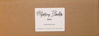 2012 Just Minors Mystery Balls Baseball Hobby 10-Box Case