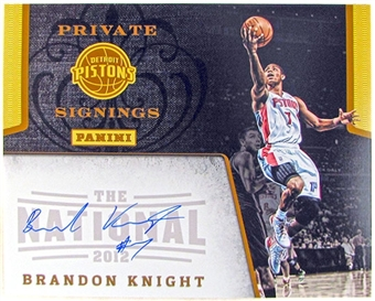 Brandon Knight Autographed 8x10 Photo 2012 The National Panini Private Signings