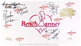 BenchWarmer National Edition Trading Card Box (Autographed) (2012)
