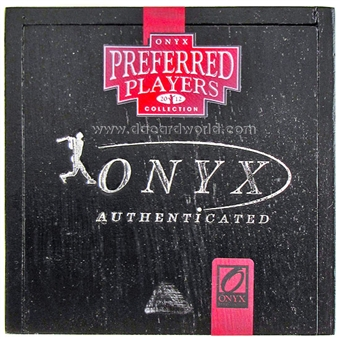 2012 Onyx Preferred Players Collection Baseball Hobby Box